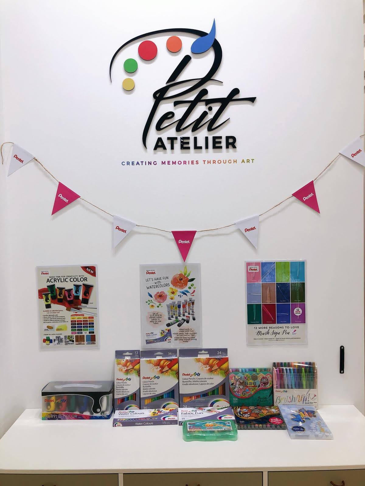 Pentel X Petit Atelier Collaboration